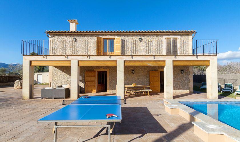 Tischtennis Finca Mallorca Norden PM 3841