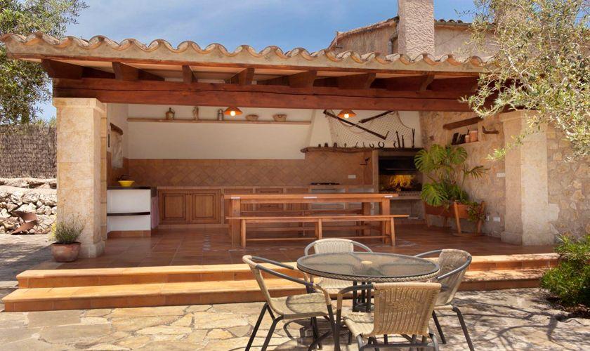 Aussenküche Finca Mallorca 4 Personen PM 3842