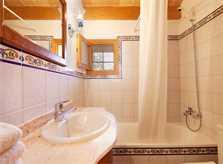Badezimmer Finca Mallorca 4 Personen PM 3842