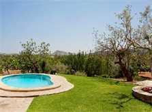 Poolblick  Finca Mallorca 4 Personen PM 3842
