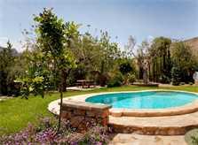 Pool und Garten Finca Mallorca 4 Personen PM 3842