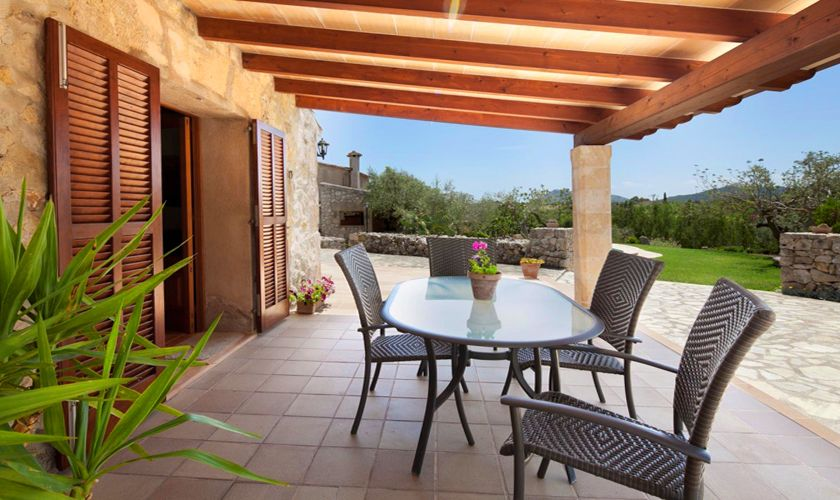Terrasse Finca Mallorca 4 Personen PM 3842