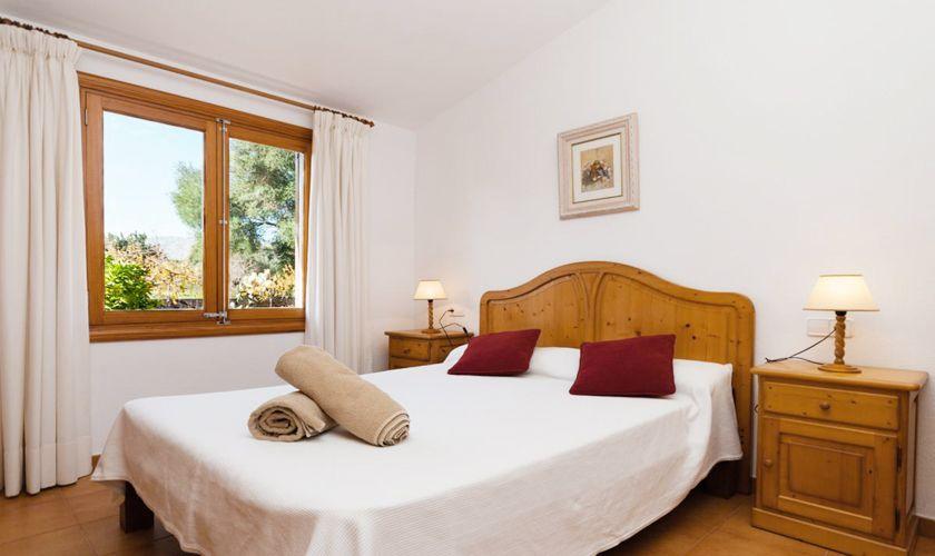Schlafzimmer Finca Mallorca Norden PM 3843