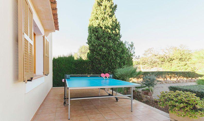 Tischtennis Ferienfinca Mallorca PM 3843