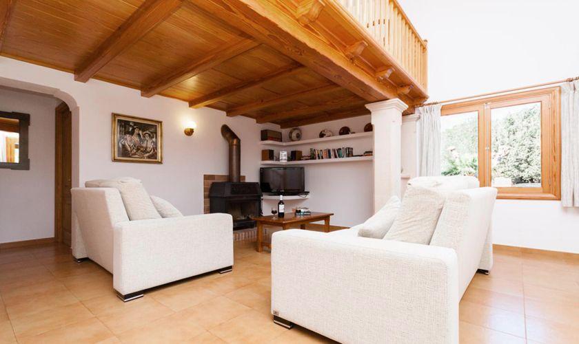 Wohnraum Ferienfinca Mallorca PM 3843