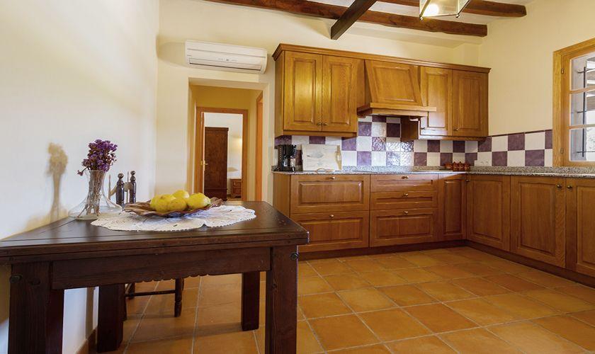 Küche Finca Mallorca 6 Personen PM 3844