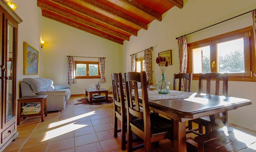 Wohnraum Finca Mallorca 6 Personen PM 3844