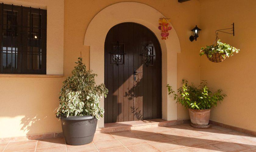 Eingang Ferienfinca Mallorca 4 Personen PM 3845