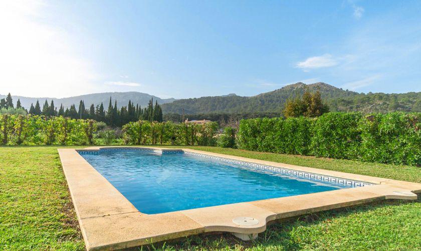 Pool und Berge Finca Mallorca 4 Personen PM 3845