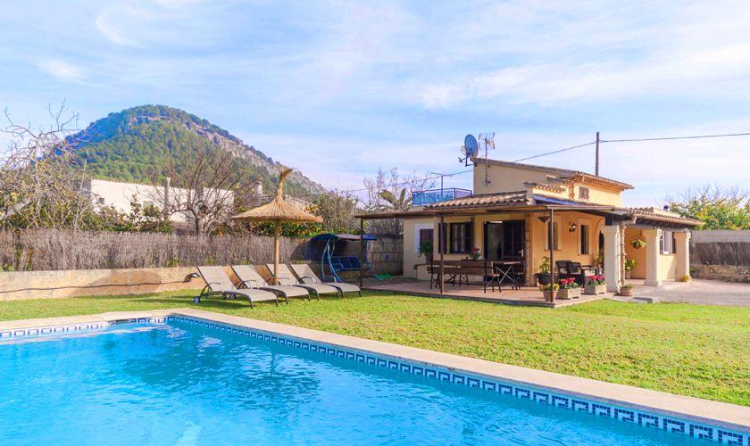 Pool und Berge Finca Mallorca PM 3845