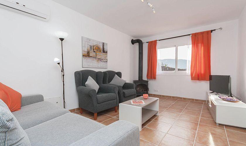 Wohnraum Ferienhaus Mallorca PM 3845