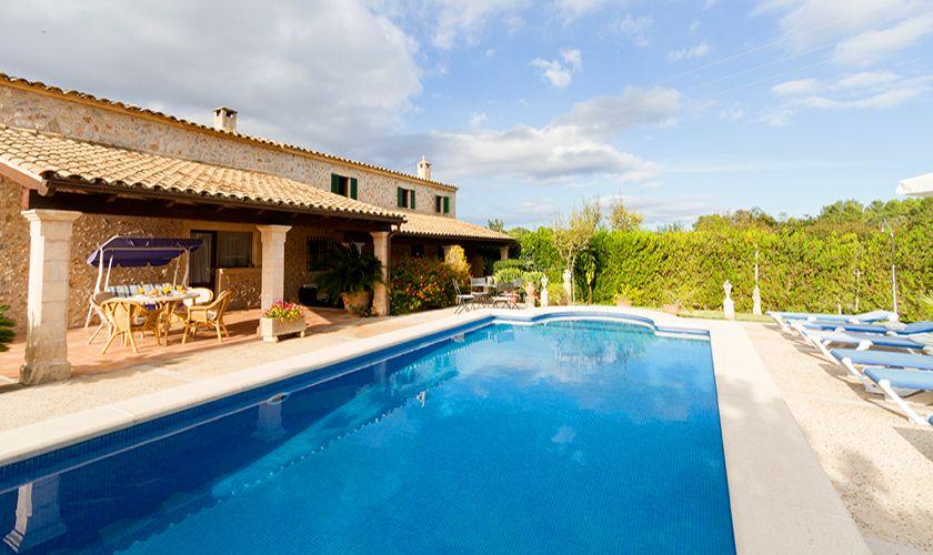 Pool und Finca Mallorca 8 Personen PM 3846