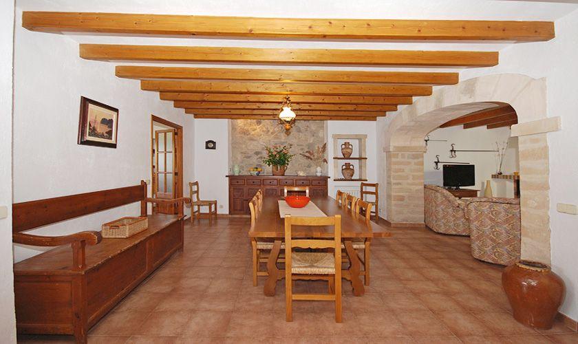 Essplatz Finca Mallorca PM 384 für 10 Personen