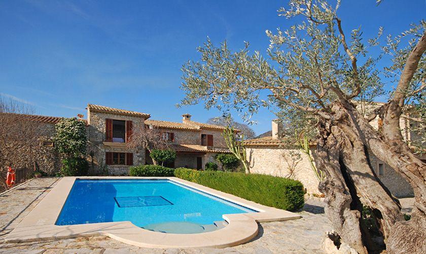Pool und Finca Mallorca PM 384 für 10 Personen