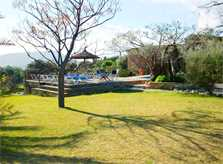 Rasenflächen Finca Mallorca PM 384 für 10 Personen