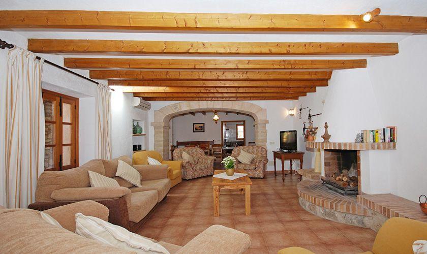 Wohnraum Finca Mallorca PM 384 für 10 Personen