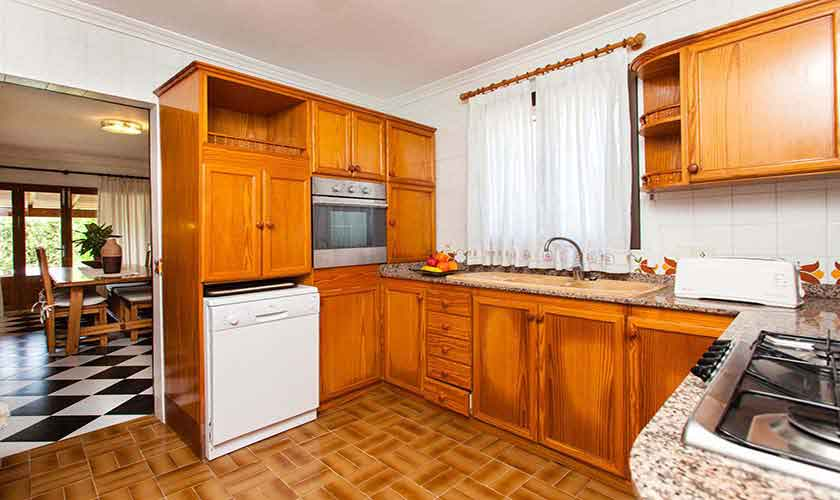 Küche Finca Mallorca 8 Personen PM 3855