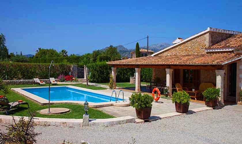 Pool und Finca Mallorca Norden PM 3855