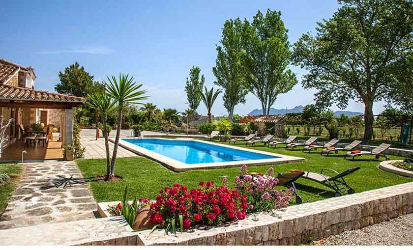 Pool und Finca Mallorca 8 Personen PM 3855