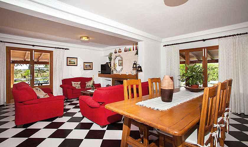 Wohnraum Finca Mallorca 8 Personen PM 3855