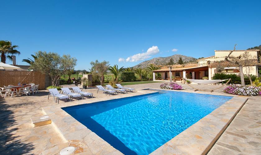 Pool und Finca Mallorca Norden PM 3857