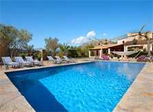 Pool und Finca Mallorca Pollensa PM 3857