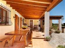 Terrasse Finca Mallorca Pollensa PM 3857