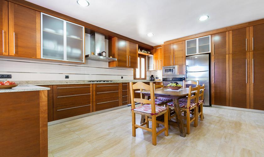 Küche Finca Mallorca Norden PM 3860