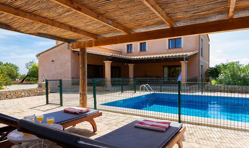 Pool und Finca Mallorca Norden PM 3860