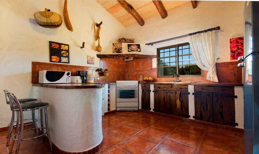 Küche Finca Mallorca Norden PM 3864