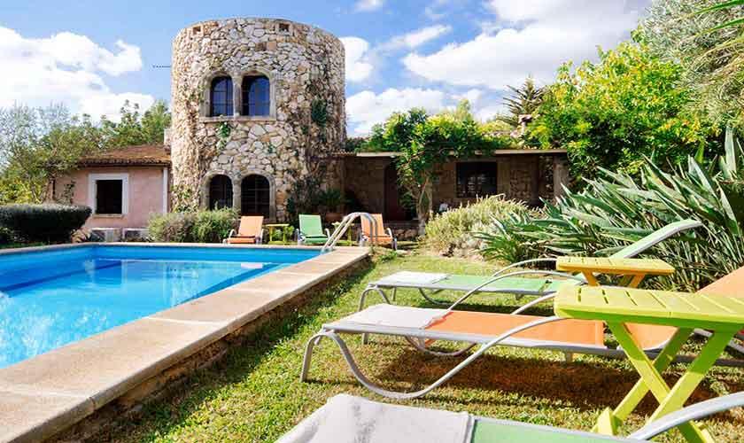 Pool und Finca Mallorca Norden PM 3864