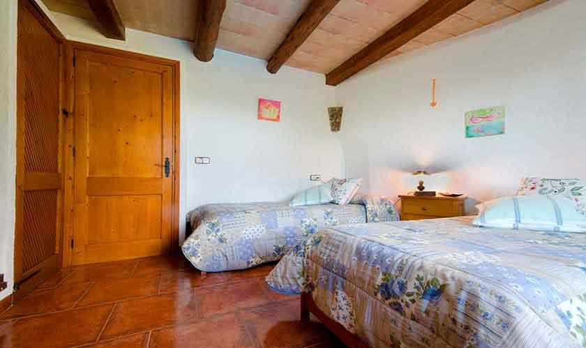 Schlafzimmer Finca Mallorca Norden PM 3864