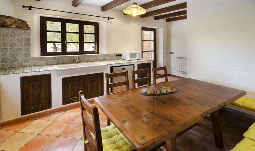 Küche Finca Mallorca 6 Personen PM 3865