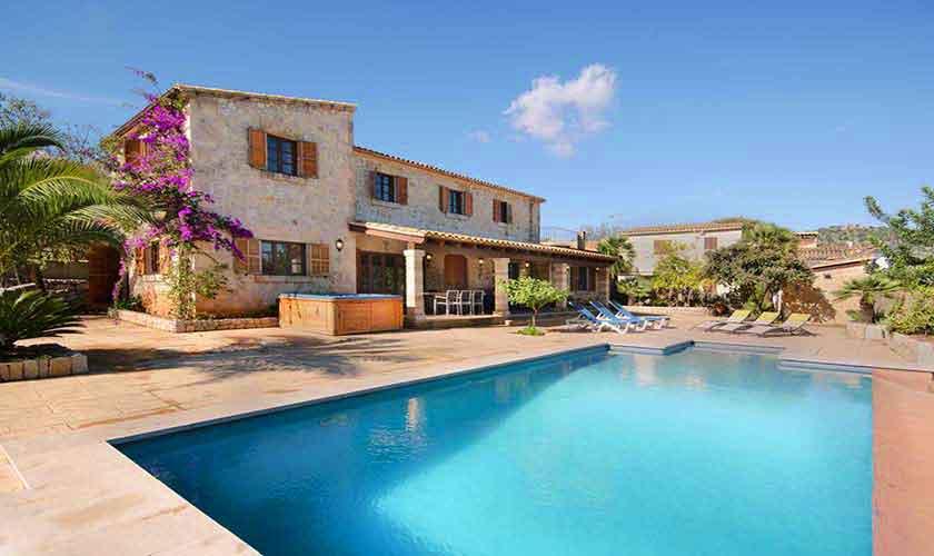 Pool und Ferienfinca Mallorca PM 3865