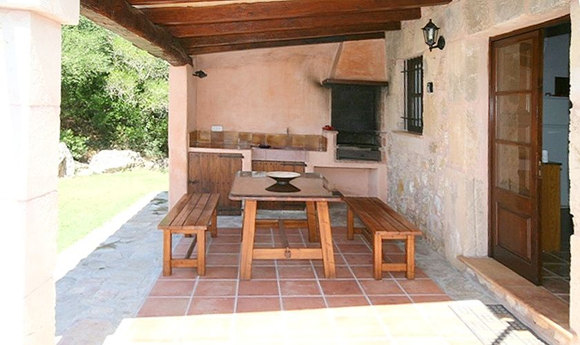 Barbecue Ferienfinca Mallorca für 4 Personen PM 387
