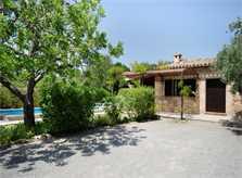Blick auf die Finca Mallorca für 4 Personen PM 387