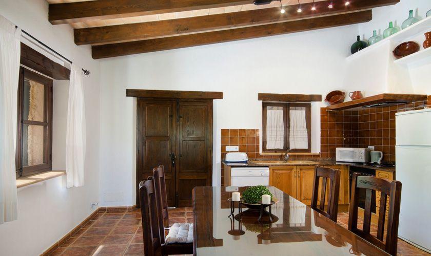 Küche Finca Mallorca für 4 Personen PM 387