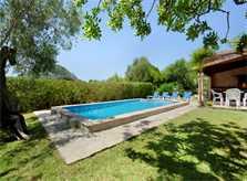 Poolblick Finca Mallorca für 4 Personen PM 387