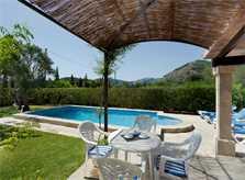 Terrasse Finca Mallorca für 4 Personen PM 387