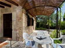 Terrasse Ferienfinca Mallorca für 4 Personen PM 387
