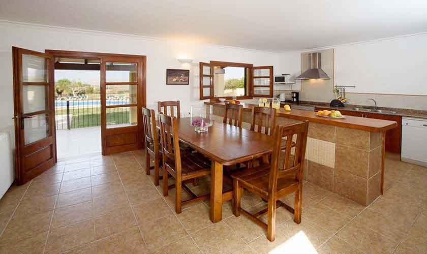 Küche Ferienfinca Mallorca PM 3882