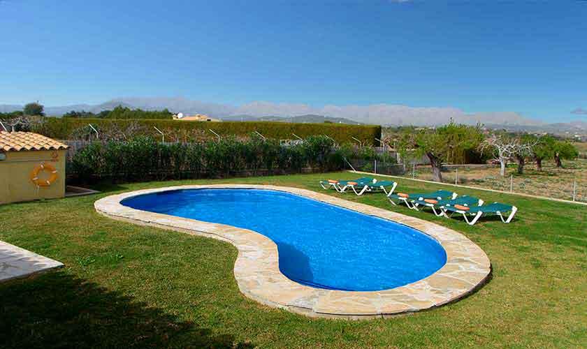 Poolblick Ferienfinca Mallorca PM 3882