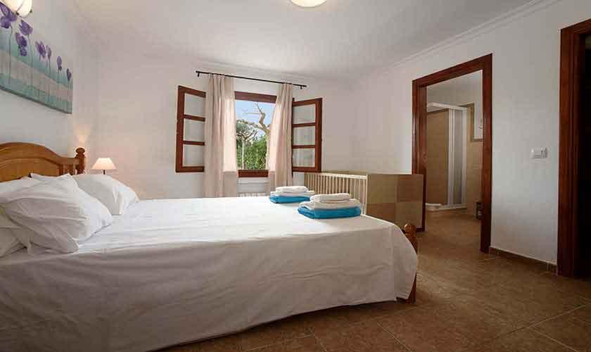 Schlafzimmer Ferienfinca Mallorca PM 3882