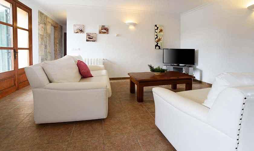 Wohnraum Ferienfinca Mallorca PM 3882