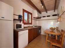 Küche Finca Mallorca Pollensa 10 Personen PM 388