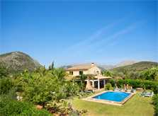Pool und große Finca Mallorca Pollensa PM 388