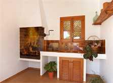 Außenküche Finca Mallorca Pollensa PM 3891