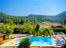 Pool und Blick Finca Mallorca 6 Personen PM 3892