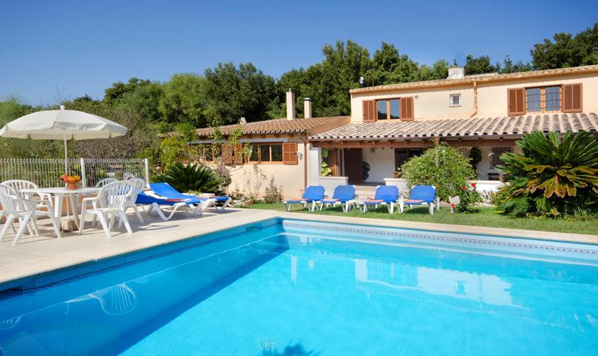 Pool und Finca Mallorca 6 Personen PM 3892