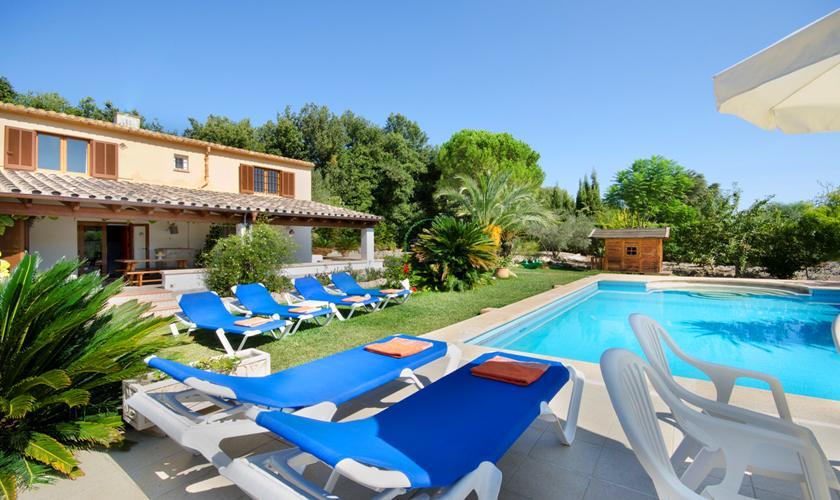 Pool und Finca Mallorca Norden PM 3892